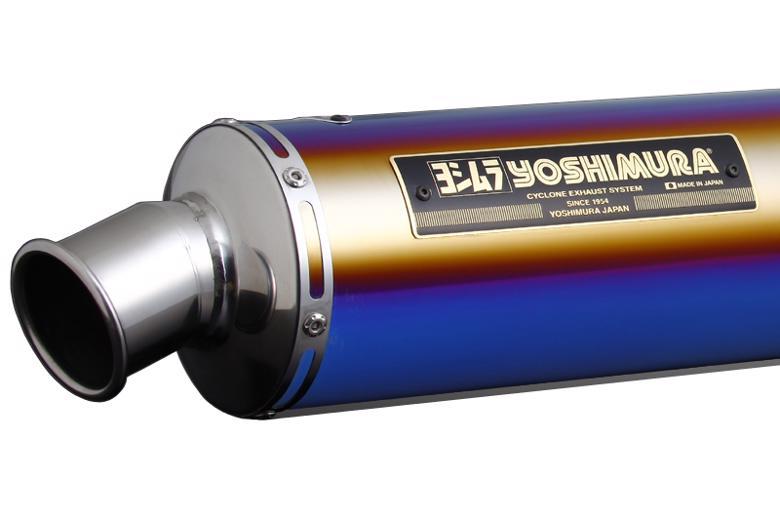ヨシムラ 機械曲チタンサイクロン LEPTOS TTB XJR1300 07- FireSp> 《ヨシムラジャパン 110-313F8281B》
