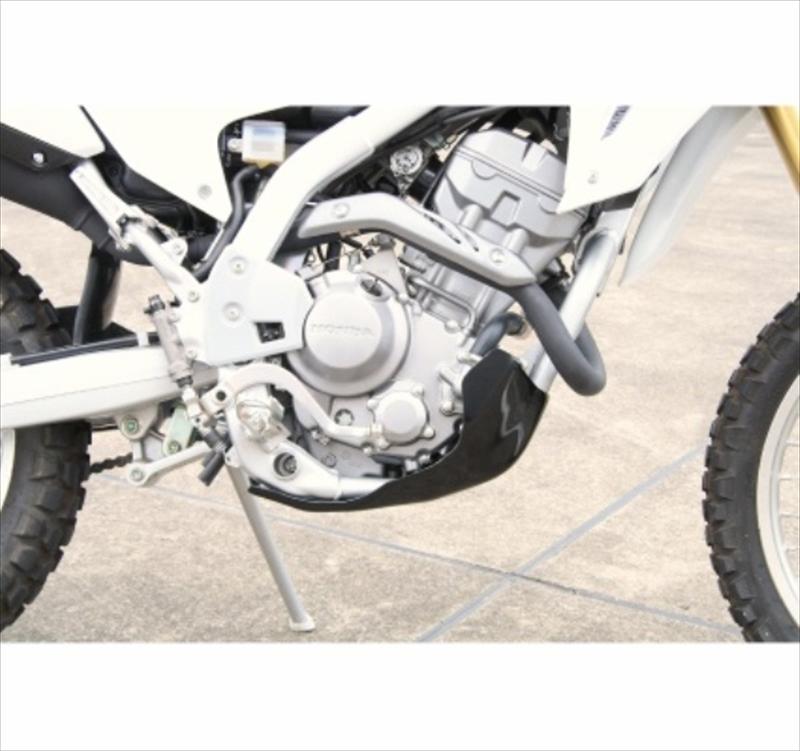バイク用品 外装CYCLE-AM サイクラム スキッドプレート タイプ2 ブラック CRF250L MCJE15BK 4580332556056取寄品 セール