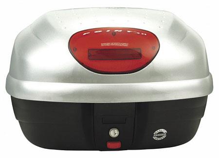 【GIVI】【ジビ】【バイク用】【ボックス】モノロックケース 汎用モノロックベース付き E33EG730 ストップランプなし シルバー塗装【68038】