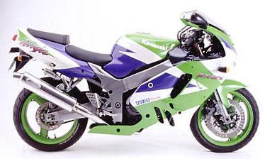 【バイク用】ツキギレーシング アレーテボルテックス FULL EXHAUST フルエキゾースト マフラー アルミ ZX-9R -97【724-1019】【送料無料!】