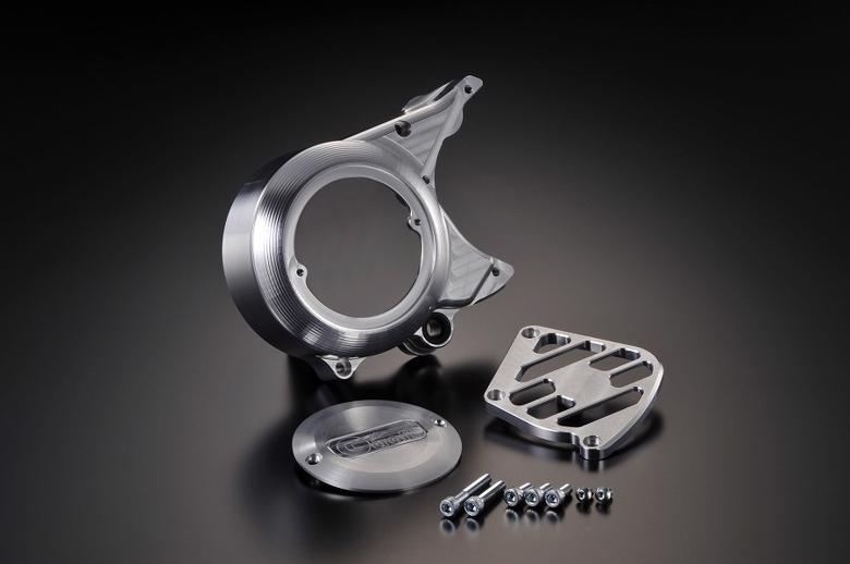 バイク用品 吸気系 エンジンG-CRAFT ジークラフト Gクラフト アルミビレットジェネレーターカバー カブケイ ヨコガタエンジンヨウ37124 4522285371249取寄品 スーパーセール