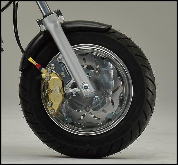 バイク用品 タイヤ ホイールG-CRAFT ジークラフト Gクラフト 10インチ3.5J フロントディスクセット ブレンボ4P用 モンキー ゴリラ34182 4522285341822取寄品 セール