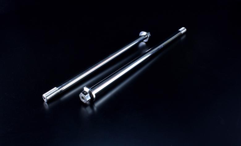 バイク用品 ハンドルG-CRAFT ジークラフト Gクラフト クロモリアクスルシャフト 250mm 汎用38903 4522285389039取寄品 セール