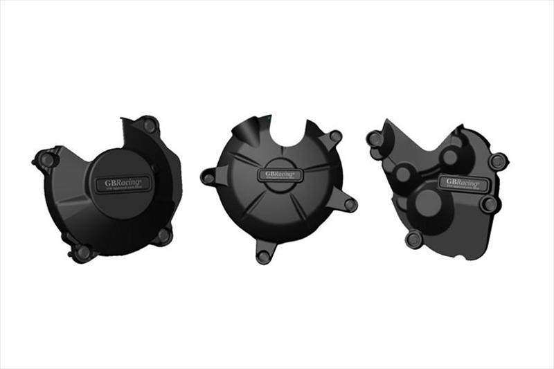 バイク用品 吸気系 エンジンGBRACING ジービーレーシング エンジンカバーセット 3点 ZX-6R 09-12EC-ZX6-2009-SET-GBR 4548664858354取寄品 セール