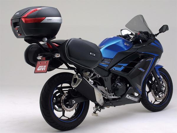 バイク用品 ケース(バッグ) キャリアGIVI ジビ TE4108 NINJA250(13)79390 4909449438503取寄品 セール