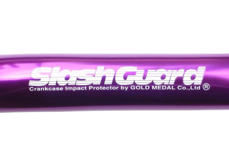 バイク用品 外装ゴールドメダル GOLDMEDAL スラッシュガード サブ無 パープル X-4SGH03A-6 4520616504601取寄品 セール