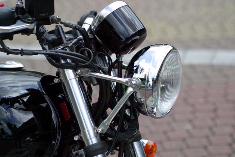 バイク用品 電装系ゴールドメダル GOLDMEDAL ヘッドライト メッキ ST250SUZU-025 4547424797674取寄品 セール
