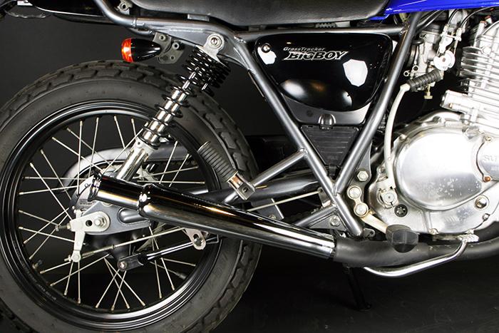 バイク用品 マフラーグッズ GOODS トランペットマフラー スリップオン グラストラッカー(-03年)G4-00042 4548664961900取寄品 スーパーセール