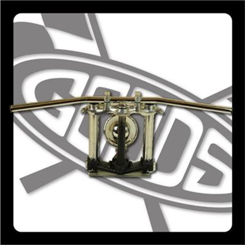 バイク用品 ハンドルグッズ GOODS ドラッグバー クローム SR400 500(88-00) AMAL364ホルダー ワイヤー・セットG9-00279 4548664964956取寄品 セール