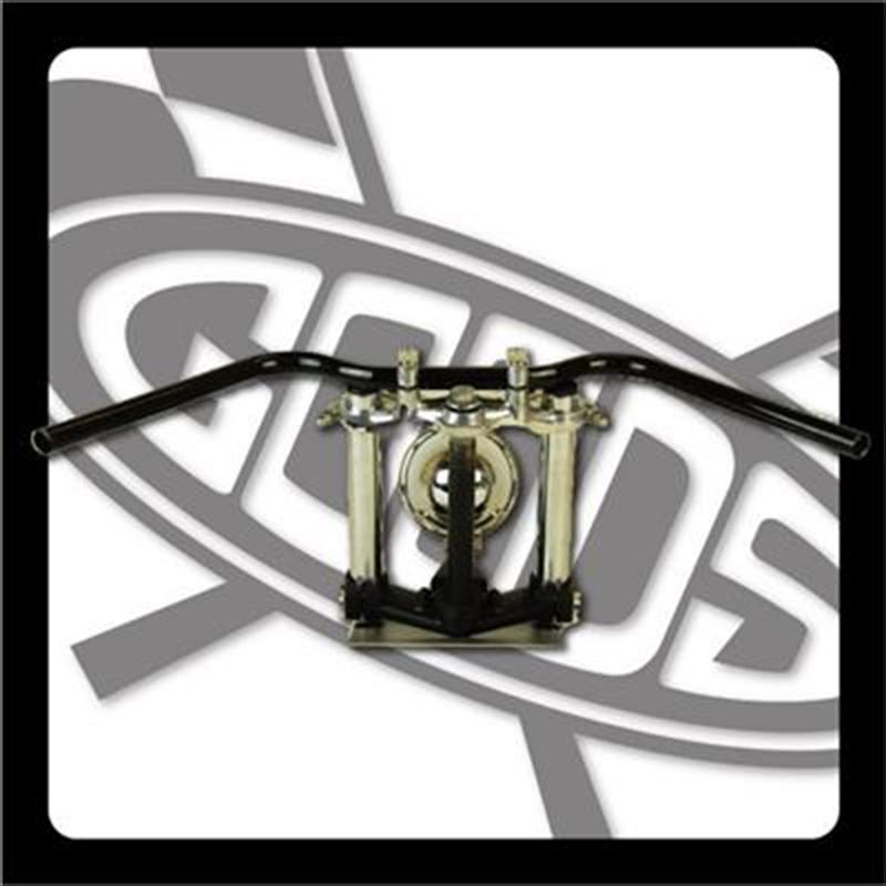 バイクパーツ モーターサイクル オートバイ バイク用品 ハンドルグッズ GOODS オールドバーロー ブラック SR400 500(88-00) AMAL364ホルダーBK ワイヤー・セットG9-00306 4548664965168取寄品 スーパーセール