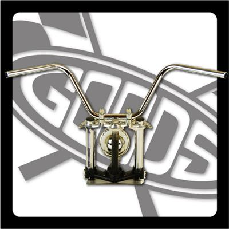 バイク用品 ハンドルグッズ GOODS キャニオンバー クローム SR400 500(01-) AMAL364ホルダー ワイヤー・セットG9-00352 4548664965540取寄品 スーパーセール