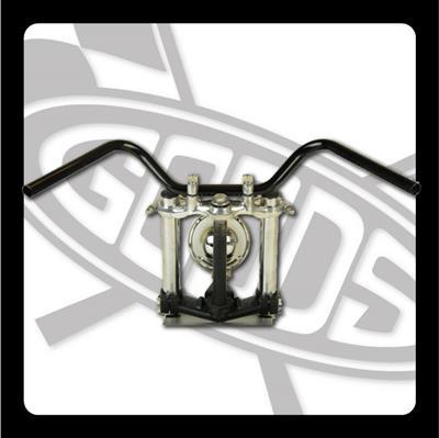 バイク用品 ハンドルグッズ GOODS オールドバーハイ ブラック SR400 500(01-) AMAL364ホルダーBK ワイヤー・セットG9-00397 4548664965892取寄品 セール