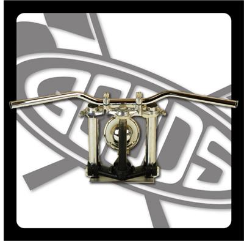 バイク用品 ハンドルグッズ GOODS スローベントバー クローム SR400 500(85-87) AMAL364ホルダーBK ワイヤー・セットG9-00495 4548664966691取寄品 セール