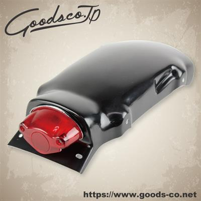 バイク用品 外装グッズ GOODS ショートフェンダーレスキット ミラー38ET SR400 500 78-16G6-00146 4548916907793取寄品