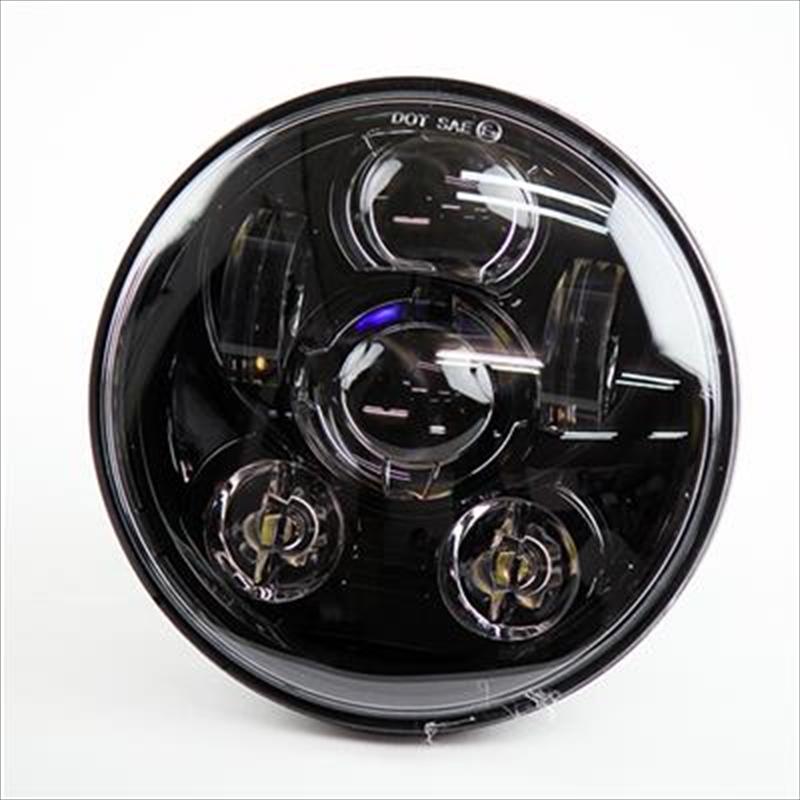 バイク用品 電装系グッズ GOODS LEDヘッドライトユニット 5-3 4インチ プロジェクターG6-00159 4549950526353取寄品
