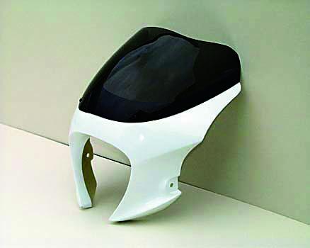 GOOSE350 スモーク カーボン ブレットビキニタイプM GULLCRAFT 外装ガルクラフト バイク用品 250GBM-008C セール 4547424779533取寄品