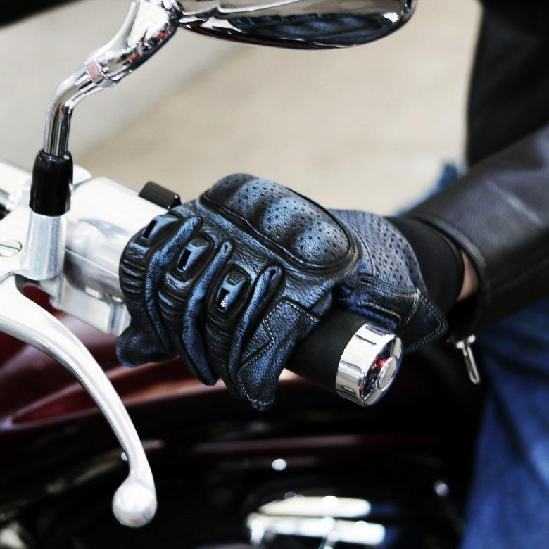 棚替えの為訳あり品バイクグローブビンテージ風パンチングレザーグローブアメリカン883ハーレーネオクラシックXSRMTSRREBLEツーリング通勤通学オートバイWIDESOURCEJD-135