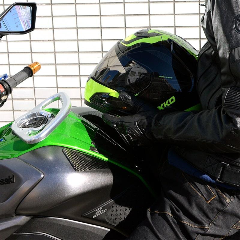ヘルメットNIKKOHELMETN-805BLACK/YELLOWフルフェイスバイクヘルメット蛍光カラー派手防寒