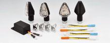 【KIJIMA】【キジマ】【バイク用】【モンキー】【MONKEY】ウインカーキット LED-MATタイプ 4個セット【219-3028】