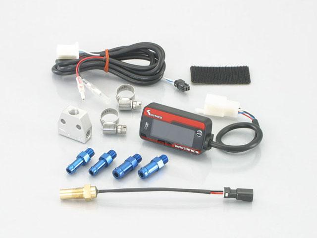 【KITACO】【バイク用】【キタコ】LCDデジタル油温計KIT type 3【752-6000200】