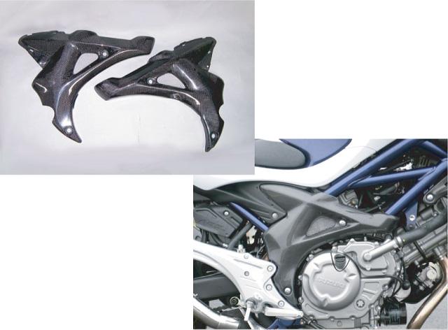 【COERCE】【コワース】【バイク用】RS フレームガード GLADIUS400 ABS カーボンモデルモデル【042-CGCC3412】