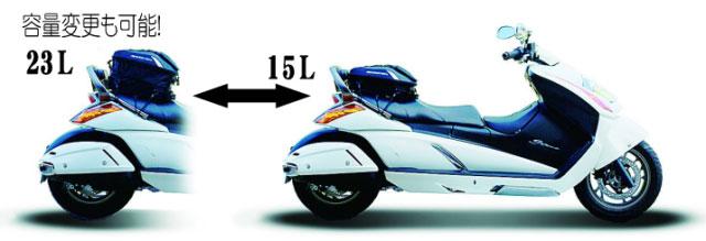【PLOT】【プロト】【BAGSTER】バグスター シートバッグ スパイダー ジェンマ【4899B1】
