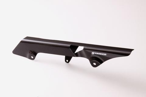 【COLORS】【カラーズ】【STRIKER】【ストライカー】【バイク用】エアロデザイン カーボンモデルモデルチェーンカバー KAWASAKI ZEPHYR ゼファー750【SAD-CC03C】