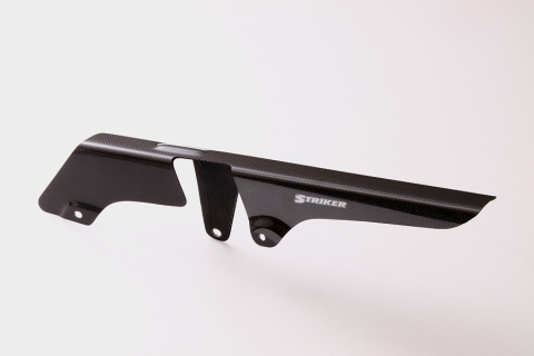 【COLORS】【カラーズ】【STRIKER】【ストライカー】【バイク用】エアロデザイン カーボンモデルモデルチェーンカバー KAWASAKI ZRX1200/DAEG【SAD-CC51C】