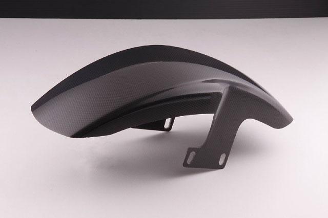 【COLORS】【STRIKER】【バイク用】エアロデザイン スペシャルフロントフェンダーType1 カーボンモデルモデル ZEPHYR1100【SAD-FF0203C】【送料無料】