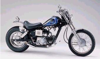 【HURRICANE】【ハリケーン】【バイク用】SS-1 スラッシュカットマフラー マグナ50/JAZZ【HE1005M】
