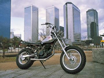 【HURRICANE】【ハリケーン】【バイク用】ドラッグパイプ TW225 TW200/E【HE1274S】