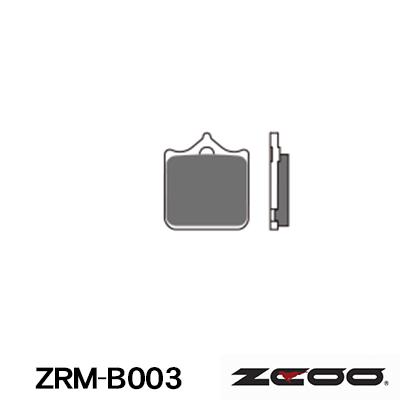 【バイク用】 【ZRM-B003】 【パッド】 【ジクー】 ラジアルマウント4枚パッド 【ZCOO】 セラミックシンタード 【ブレーキ】 DUCATI 998R/ S 02-04 Brembo 【パット】