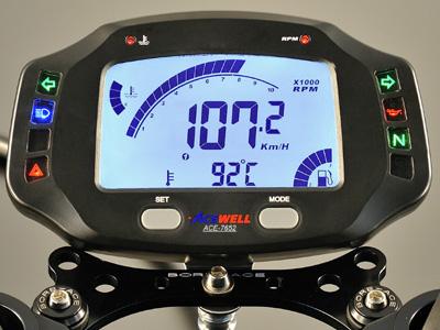 ACEWELL エースウェル 多機能デジタルメーター ACE-7652《スピードメーター バイク用》