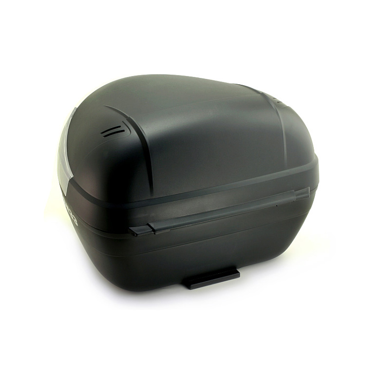 Just press in the bike box 33L lid easy to use at the push of a button lock. Clear type * reflector plate type