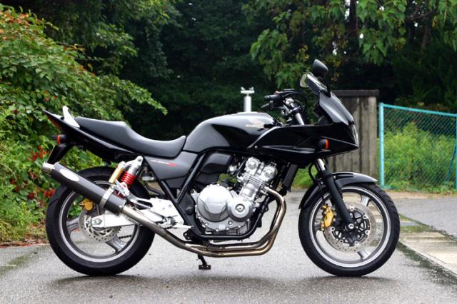 【ノジマ】【NOJIMA】【バイク用】【機械曲げ】Honda CB400SF/SB Revo. 08-11 FASARM S2-JMCA ステンレス機械曲げ フルエキゾースト 4-1 カーボンモデルモデル STDサイレンサー【NMB015-CLK】【送料無料】