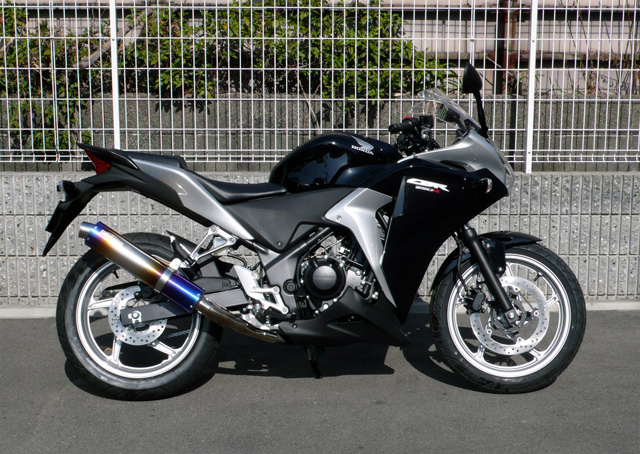 【SANSEI RACING】ZNICチタンスリップオン ステンレス/チタン CBR250R(国内仕様)2011~2013年モデル【0-22-ZST1234J】【送料無料!】