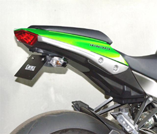 【COERCE】【バイク用】フェンダーレスキット 黒ゲル Ninja1000 ABS 2011【0-42-CFLF4119】