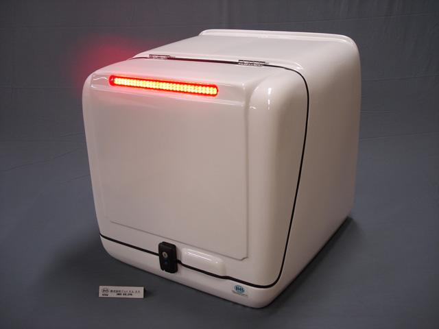 【代引不可】【送料別途】【JMS】ジャイロキャノピー用 レギュラーBOxHL ランプ付 635x635x620【B2-W-CA-H】