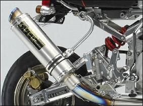 【OVER Racing】【オーバーレーシング】【マフラー】【バイク用】GP-PERFORMANCE フルチタン MONKEY モンキー【13-01-25】【送料無料】