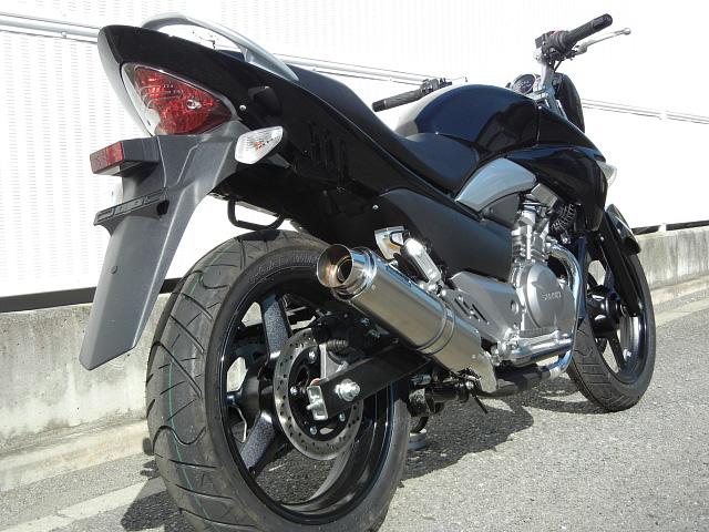 【WRS】【バイク用】【ダブルアールズ】スリップオンマフラー GSR250(JBK-GJ55D)2012年~ ステンレス/チタン BT3210JM【送料無料】