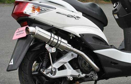 バイク用品 マフラーJOSHO-1 ジョウショウワン Colpend Exhaust ブラック シグナスX(4型)15-901058 4580352262456取寄品 セール