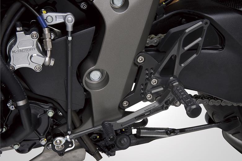 バイク用品 ステップケイファクトリー K-FACTORY ライディングステップ アルミ SPブラック CB1000R 10062MZBR053R 4548664265640取寄品 セール