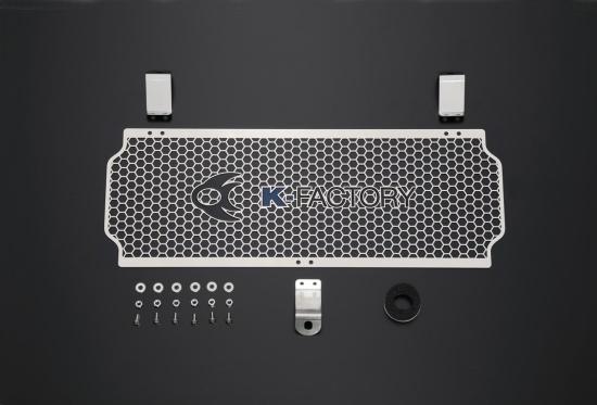 バイク用品 冷却系ケイファクトリー K-FACTORY オイルクーラーガード ステンレス Aタイプ ZEPHYR1100111CZAA053Z 4582215490501取寄品 セール