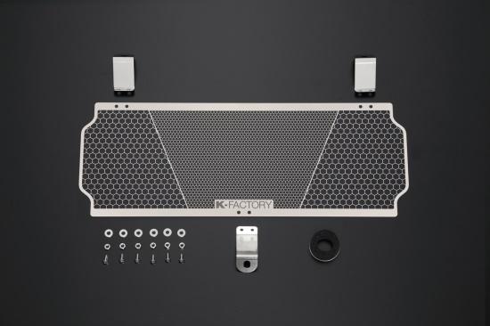 バイク用品 冷却系ケイファクトリー K-FACTORY オイルクーラーガード ステンレス Rタイプ ZEPHYR1100111CZAA055Z 4582215490525取寄品 セール