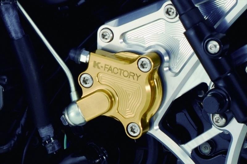 バイク用品 駆動系ケイファクトリー K-FACTORY Fスプロケカバー トリダシツキ M.SLV ZRX1200103FZAQ017N 4582215510810取寄品 セール