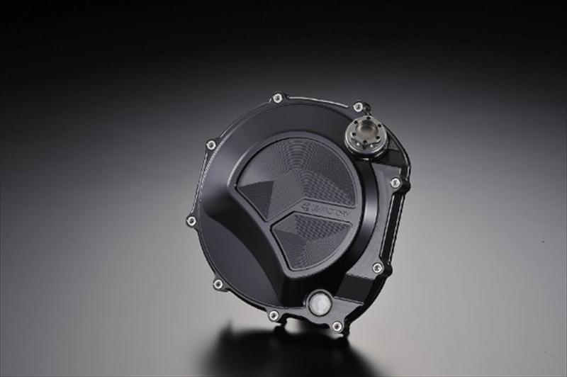 バイク用品 駆動系ケイファクトリー K-FACTORY クラッチカバー S BLK ZEPHYR1100111IZDP001R 4582215512685取寄品 セール
