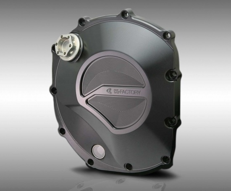 バイク用品 駆動系ケイファクトリー K-FACTORY クラッチカバー スーパーブラック CB1100 10-001IZDP003R 4582215512869取寄品 セール