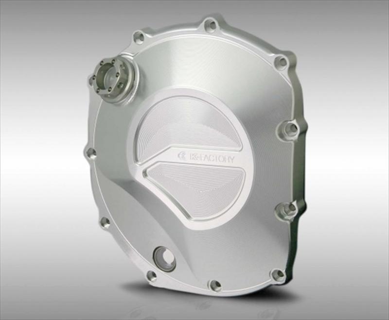 バイク用品 駆動系ケイファクトリー K-FACTORY クラッチカバー シルバー CB1100 10-001IZDP003H 4582215512876取寄品 セール