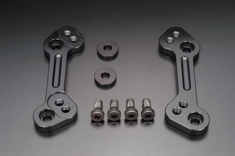 バイク用品 ステップケイファクトリー K-FACTORY ステップブラケット スーパーブラック ZX-6R 13-166MZBK096R 4582215602737取寄品 セール
