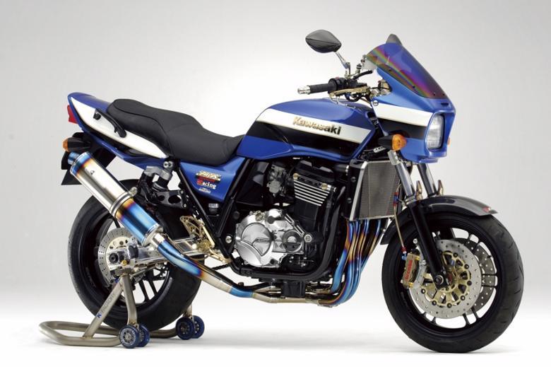 バイク用品 マフラーケイファクトリー K-FACTORY FRCチタン フルEX UPタイプ SBL-B ZRX1200(BC-ZRT20A)103KKBABBG0000 4582215603536取寄品 セール